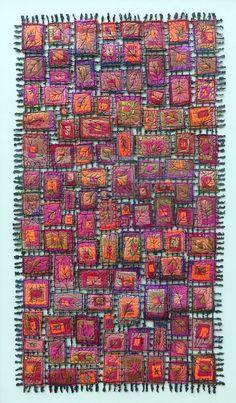 Susan Lenz's Stitched Architecture -Seasonal Leaves 2016