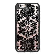 BOHO NIGHT IN BLACK - CRYSTAL CLEAR PHONE CASE - iPhone 6s Case,iPhone... ($40)…