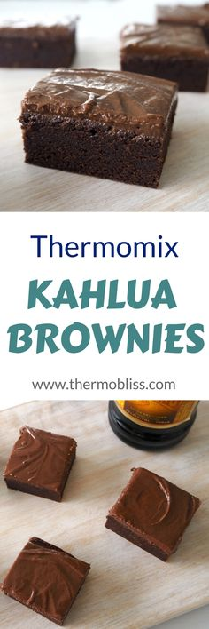Thermomix Kahlua Brownies