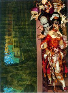 """"""" Il ponte de Sospiri - siamo tutti libertini """" from the Veneza collection by Juarez Machado"""