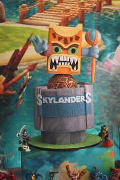 Absolutely amazing Skylanders cake!