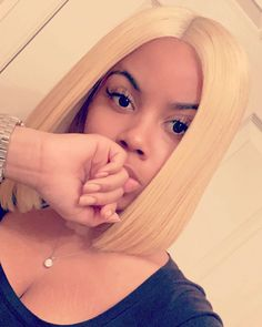 Blonde-Hair-for-Black-Girls Best Bob Hairstyles for Black Women Pictures in 2019 Kids Hairstyles – 200 Likes, 2 Comments – Natural Hairstyles 2019 Braided Hairstyle Ideas for Black Women Black Bob Hairstyles, Sleek Hairstyles, Black Hairstyle, Hairstyles Pictures, Braided Hairstyle, Dark Burgundy Hair Color, Blunt Bob Cuts, Long Asymmetrical Bob, Short Blonde Bobs