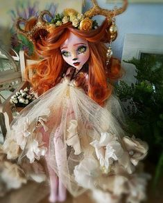 SOLD. Only for display Monster high doll monster by Miasdaydream