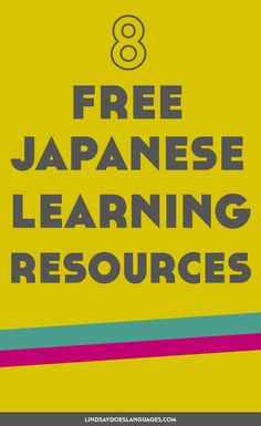 Looking for some free Japanese learning resources? Check this post for 8 great places to get you started learning Japanese for free. Woop!