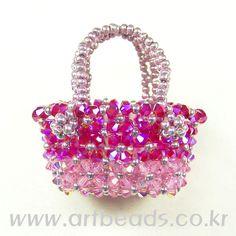cute little beaded purse