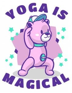 Yoga is magical Smurfs, Yoga, Funny, Fictional Characters, Design, Art, Art Background, Kunst, Performing Arts