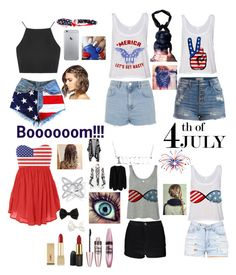 """Happy 4th of July Polyvore Friends!!!!"" by kitty-148 ❤ liked on Polyvore"