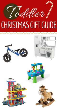 Toddler Christmas Gift Guide | 8 awesome gift ideas for toddler boys and girls!