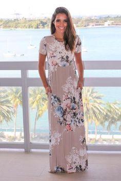 Boho beach dress casual o neck floral print dresses women bohemian long maxi dress plus size s-xxxl 2018 fashion pleated robe Modest Dresses, Day Dresses, Cute Dresses, Casual Dresses, Summer Dresses, Dresses Online, Awesome Dresses, Casual Clothes, Long Dresses