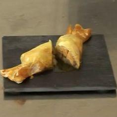 Les bonbons au foie gras et à la poire