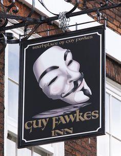 Guy Fawkes Inn - York, England