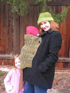 babywearing sweater ideas