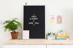 """hunt for a """"letterbord"""" on marktplaats Minimal Home, Shelfie, Scandinavian Interior, Interior Styling, Home Kitchens, Give It To Me, Sweet Home, Good Things, Wallpaper"""