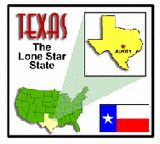 Long list of simple resources to teach about the Great State of Texas