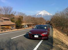 With Mt.Fuji