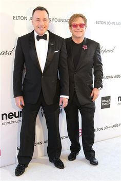 Long-Lasting Couples: In 1993, Elton John began a relationship with David Furnish, a former advertising executive and now filmmaker. On December 21, 2005 (the day that the Civil Partnership Act came into force), John and Furnish were among the first couples in the UK to form a civil partnership. John has stated his intention to marry Furnish in a quiet ceremony in May 2014, now that it is legal in England.