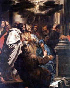 Antonie Van Dijck: De komst van de Heilige Geest