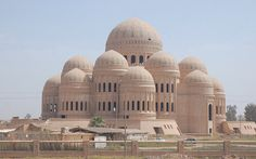 The grand mosque, Mosul, Iraq Mosque Architecture, Ancient Greek Architecture, Chinese Architecture, Historical Architecture, Beautiful Architecture, Beautiful Buildings, Art And Architecture, Beautiful Mosques, Islamic World