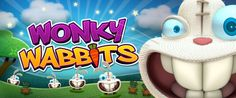 Wonky Wabbits Slot Game Banner - A NetEnt Slot Game