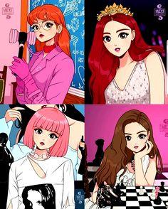 pink Anime Dibujos A Lapiz Chibi Kpop Anime, Chibi Anime, Kawaii Anime, Body Tattoo Design, Body Art Tattoos, Design Tattoos, Black Pink Kpop, Anime Lindo, Blackpink Memes