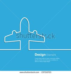 Travel background with airplane ticket