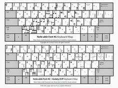 MyMusicalMagic: Music Notation Solutions: Note-able Font and Music Notation and Symbols Clip Art
