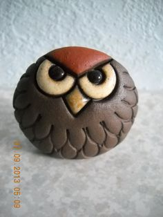 SUDA Pottery owl