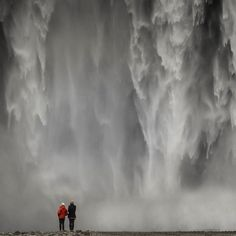 Touring the land of magnificent waterfalls in Skogafoss, Iceland Photo by @Libis_Photography
