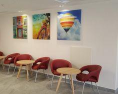 "arcdb • עיצוב לובי כניסה בנין מרפאות חוץ ביה""ח ברזילי אשקלון"