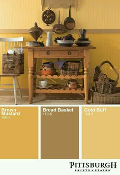 Yellow / Brown