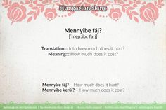 Mini language lesson Hungarian slang – Daily News Hungary Language Lessons, Learn English Words, History Memes, France, Hungary, Languages, Favorite Quotes, Meant To Be, It Hurts