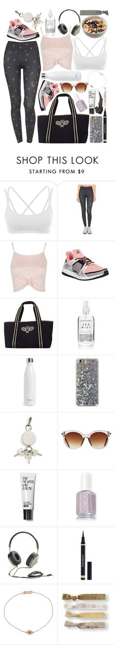 """Train Like A Beast, Look Like A Beauty"" by xo-kallio ❤ liked on Polyvore featuring La Isla, Lucas Hugh, Topshop, adidas, Chanel, S'well, Alexander Wang, Icon Eyewear, Frends and Yves Saint Laurent"