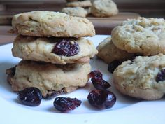 White Chocolate Cranberry Cookies - Janae's Zuckerstunde
