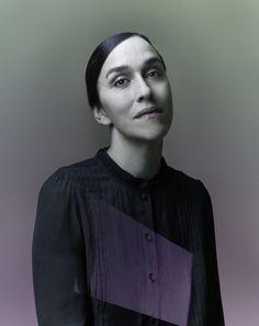 "Nadav Kander photographs ""Suffragette"" director Sarah Gavron for the Economist's Intelligent Life magazine"