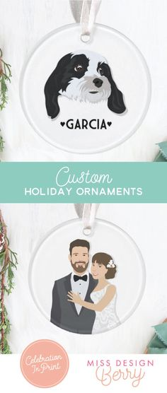 2540c737c3 Items similar to Personalized Dog Ornament - Dog Christmas Ornament, Dog  Ornament, Gift for dog lover, Christmas gift for Dog Owner, Dog Lover Gift  on Etsy