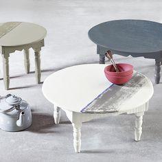 Histor NL - Inspiratie - The Color Collection Krijtverf Table, Furniture, Home Decor, Decoration Home, Room Decor, Tables, Home Furnishings, Home Interior Design, Desk