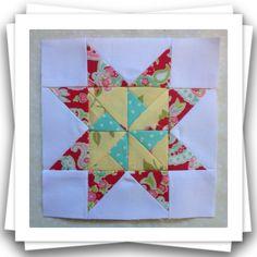 Threadbare Creations: Chatelaine- Free BOW Sampler Quilt Block 36