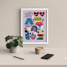 Home – Paper Edited Bold Prints, Stationary, Girl Outfits, Tech, Printables, Paper, Glass, Illustration, Home