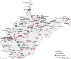 Free State Maps With County And City Virginia County Map This - Road map virginia