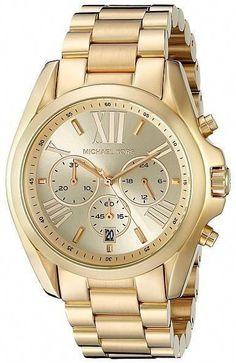 cd9517c86b4d Michael Kors MK5605 - Bradshaw Chronograph Watches  myprecious!   michaelkorsmk