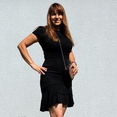 #fashion #Dress #zara, #bag #hennesandmauritz