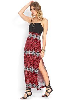 Adventurer Slit Maxi Dress | FOREVER21 #ForeverFestival #MaxiDress
