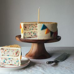 Make an artifically-delicious childhood treat a little bit more authentic. Molly Yeh from My Name is Yeh shows us how. Funfetti Kuchen, Funfetti Cake, Sweet Recipes, Cake Recipes, Dessert Recipes, Yummy Treats, Sweet Treats, Def Not, Food 52