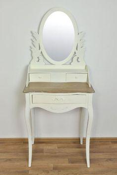 Toaletka w Stylu Rustykalnym Shabby Chic Decor, Furniture, Home Decor, Vanity