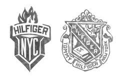 Hilfiger Collegiate Sketches by Glenn Wolk, via Behance