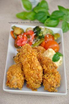 Aripioare crocante KFC style