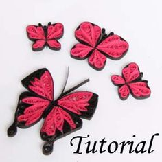 Free Paper Quilling Tutorials - Honey's Quilling