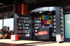 Bibliotecas móveis espalham livros pelo Paraná - Planeta Sustentável