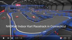 Hey #Connecticut Pro Kart Riders! Check Out Our Naskart Indoor #Kart Racing & Trampoline Park Intro Video =>