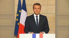 """Bewegende Rede von Emmanuel Macron: """"Make our planet great again"""" - SPIEGEL ONLINE - Video"""